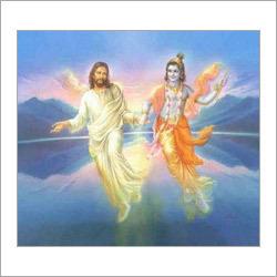 Jesus Krishna Painting