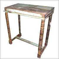 Reclaimed And Rosewood Mixed Table