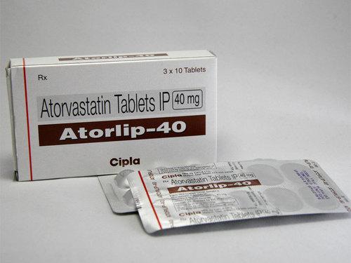 Atorlip 40 Atorvastatin Tablets