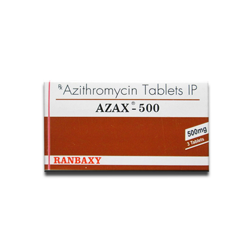 AZAX-500MG Azithromycin Tablets