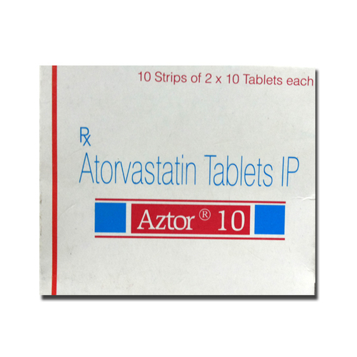 Aztor 10mg Atorvastatin Tablets