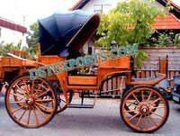 NEW WODDEN HORSE CARRIAGE