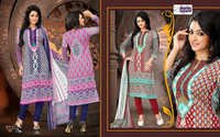Cotton Embriodered Salwar kameez