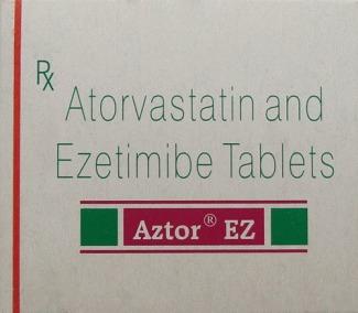 Aztor Ez Atorvastatin Ezetimibe Tablets