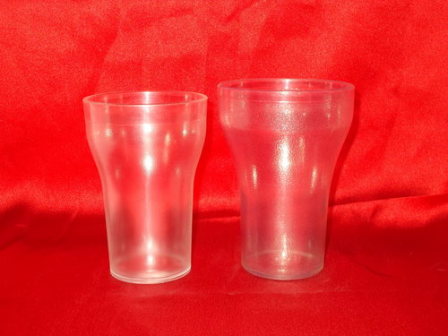 Unbreakable Polycarbonate Coco Cola Glasses