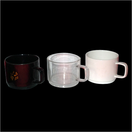 Unbreakable Polycarbonate Tea Cup- 100/150ML