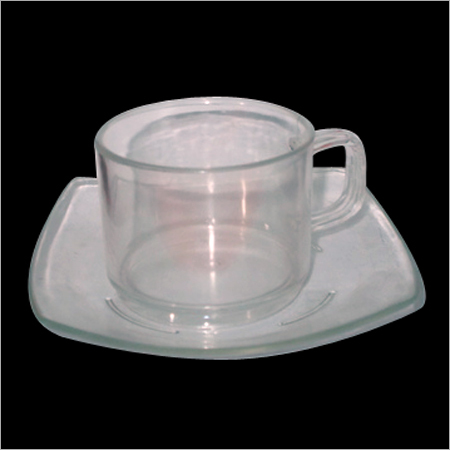 Unbreakable Polycarbonate Tea Cup with Under Liner