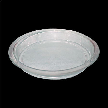 Unbreakable Polycarbonate Chowmein Plate- 7''