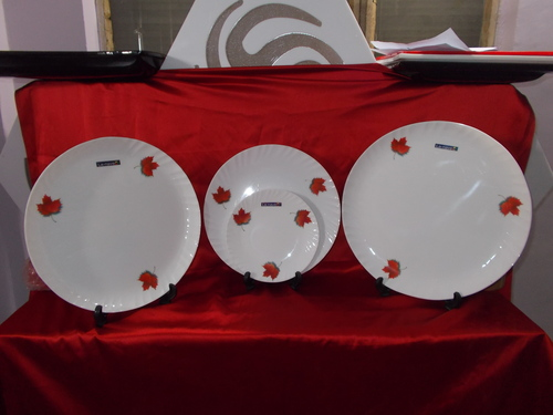 Printed Dinner Plates