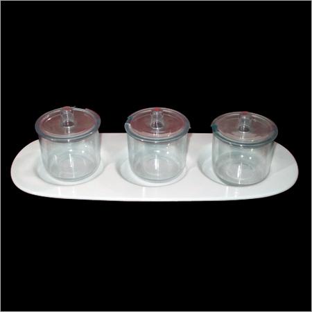 Unbreakable Polycarbonate Jam Pot