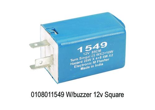 Wbuzzer 12v Square