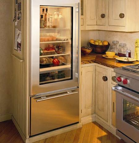 Refrigerator Glass