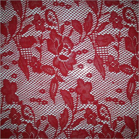 Flower Net Fabrics Russel Warp Net Jaquard