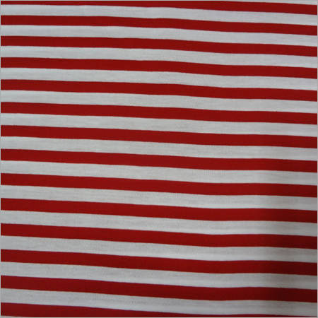Poly-cotton 50/50 Strips Knitted Fabrics