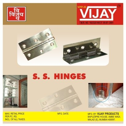 S. S. Hinges