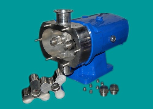 Industrial Vertical Lobe Pump