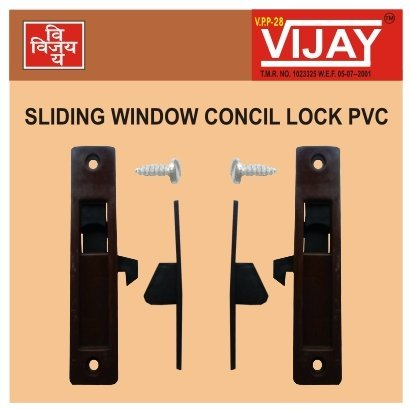 Sliding Window Concil Lock PVC