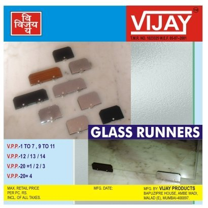 Glass Runners