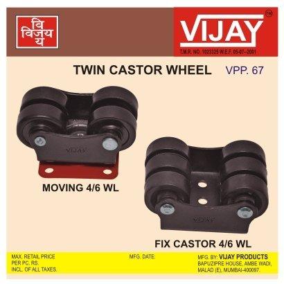 Twin Castor Wheel