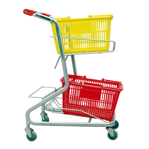 SHOPPING BASKET TROLLY