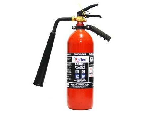 Portable CO2 Type Fire Extinguisher