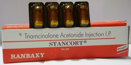 Stancort Triamcinolone Acetonide 10mg/40mg Injecti
