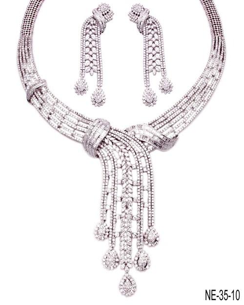 Fasonable Diamond Necklace
