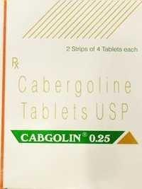 Cabgolin 0.25 Cabergoline Tablets