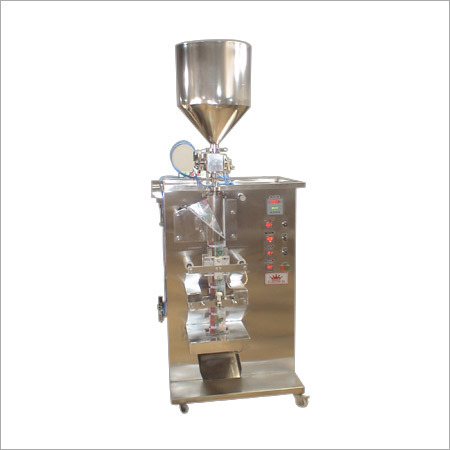 Jam Pulp Sachet Packing Machine