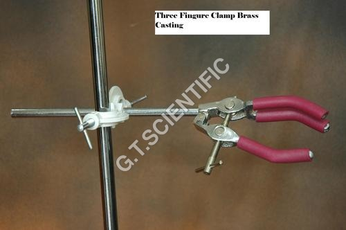 Three Fingure Clamp Brass Casting