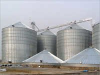 Commercial Hopper Bottom Silo