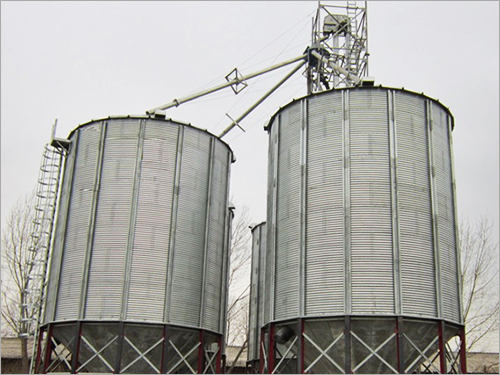 Industrial Hopper Bottom Silo