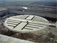 Commercial Silo Concrete Foundation