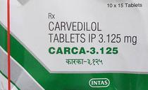 Carca 12.5 Tab Carvedilol Tablets