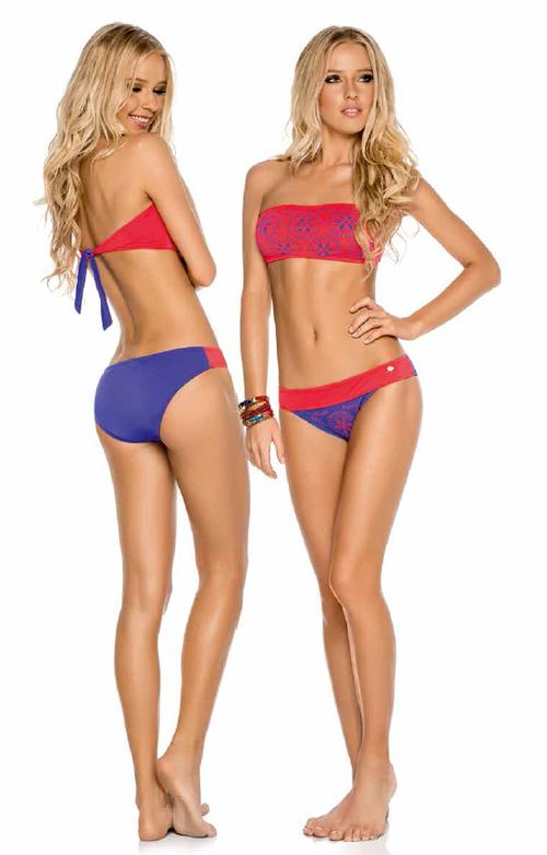 Laser Bolhas Bikini Swimwear