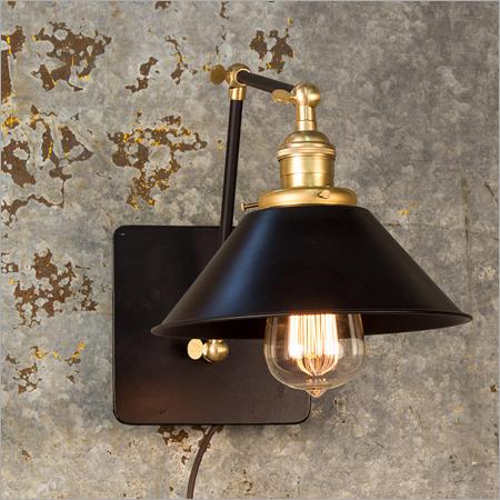 Designer Brass Wall Light