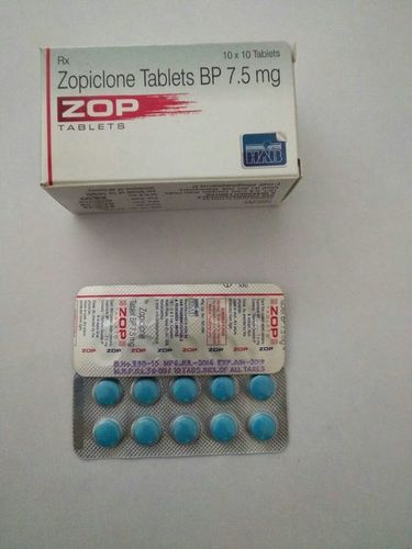 Zopiclone 7.5 MG Tablet by Hab Pharma