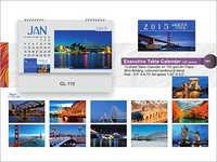 Executive Table Calendars