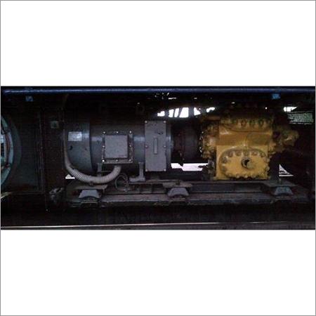 Iso mount on railway