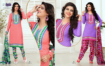 Cotton Embriodered Suits