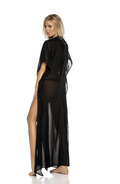 Areia long dress with strings