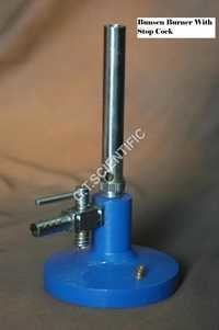 Bunsen Burner with Cock Stop