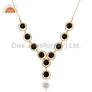 Silver Handmade Gold Plated Necklace