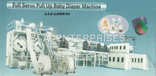 Full Servo Pull Up Baby Diaper Machine