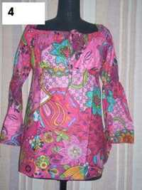 south america cotton printed garments