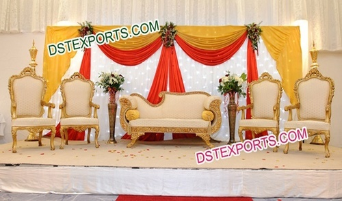 Pakistani Wedding Stage Sofa Set/Wedding Furnitur