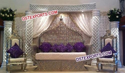 Jodha Akber Wedding Stage Furniture Sofa Set