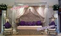 Jodha Akber Wedding Stage Furniture Sofa Set