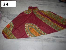 south america cotton printed garments