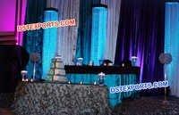 Crystal Pillars For Wedding  Decors